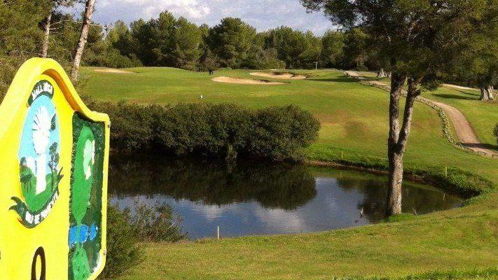 Golfplatz in Calvia Mallorca