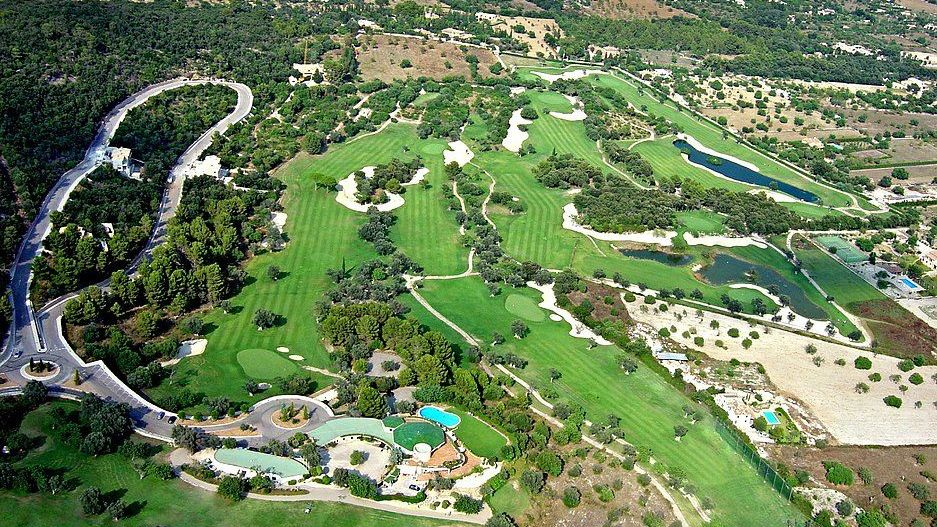 Golfplatz in Pollensa