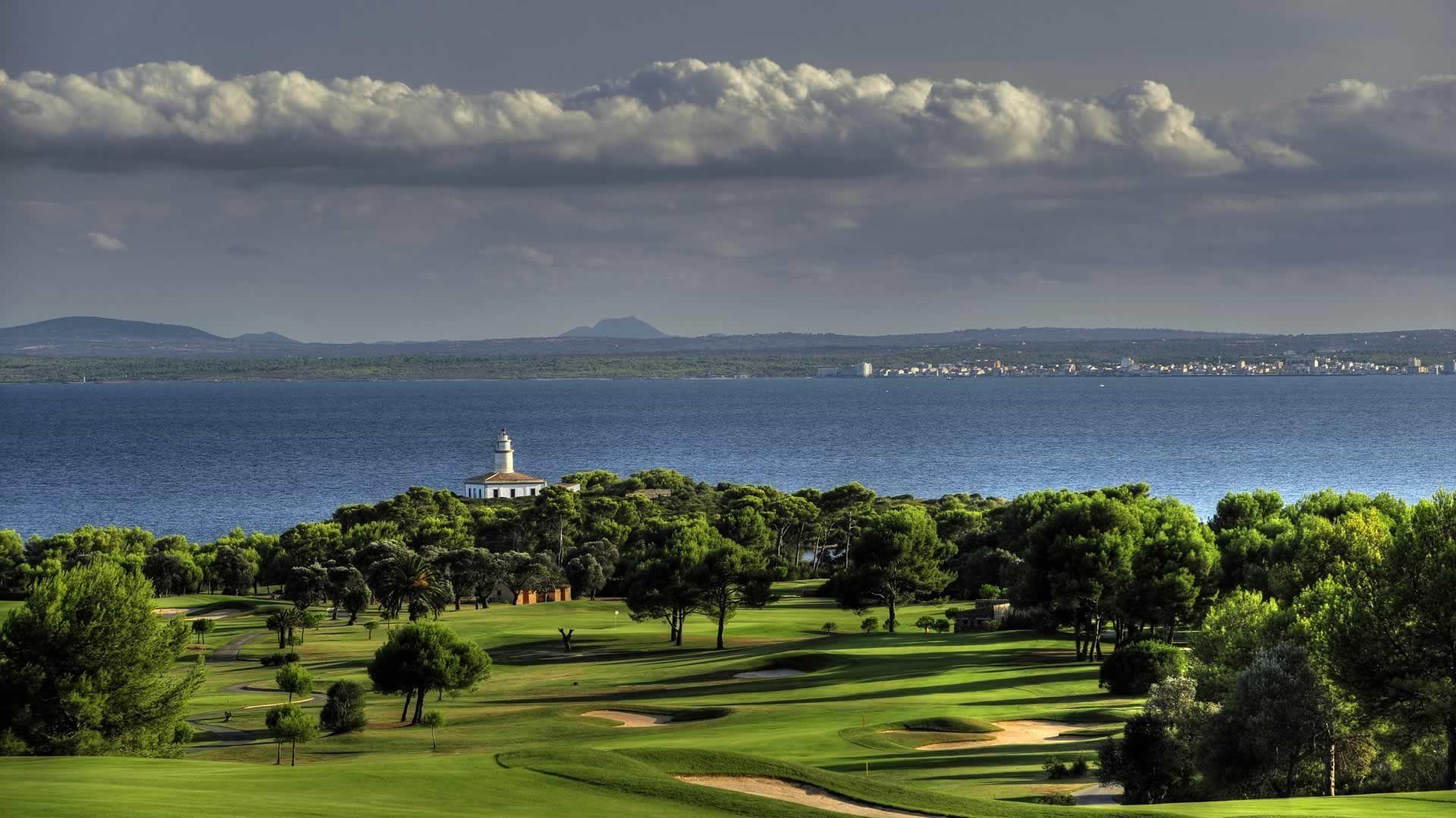 Golfplatz in Port d'Alcúdia