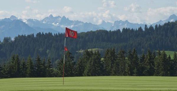 Golfplatz in Weitnau-Hellengerst