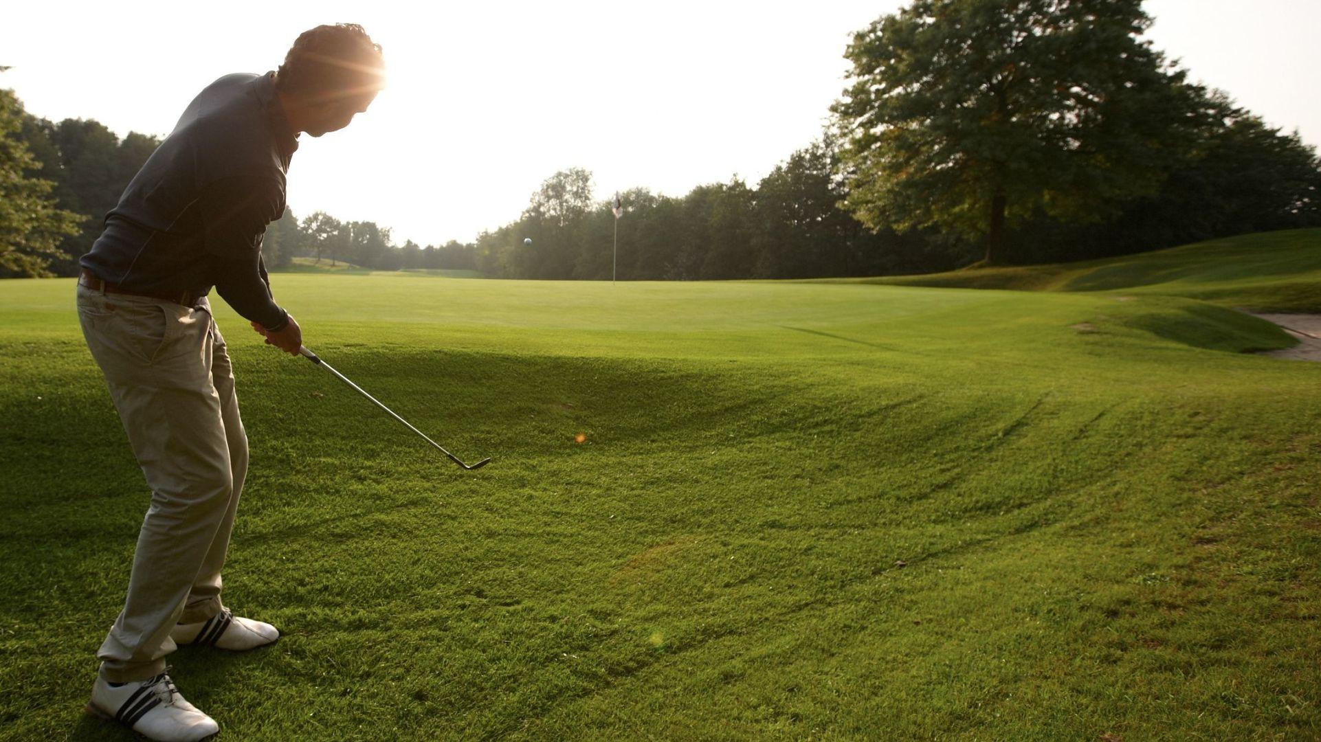 Golfplatz in Düsseldorf