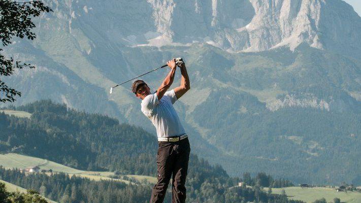 Golfplatz in Kitzbühel
