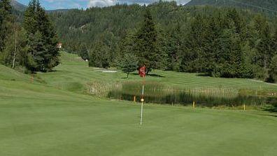 Golfplatz in Alvaneu Bad