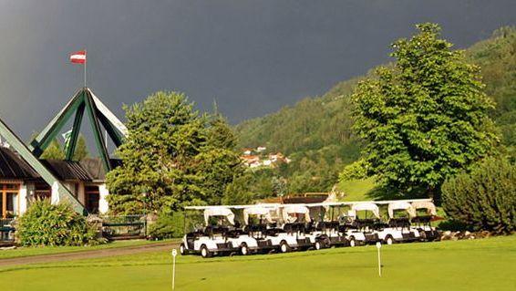 Golfplatz in Haus