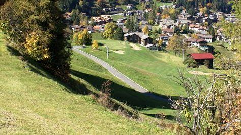 Golfplatz in Klosters