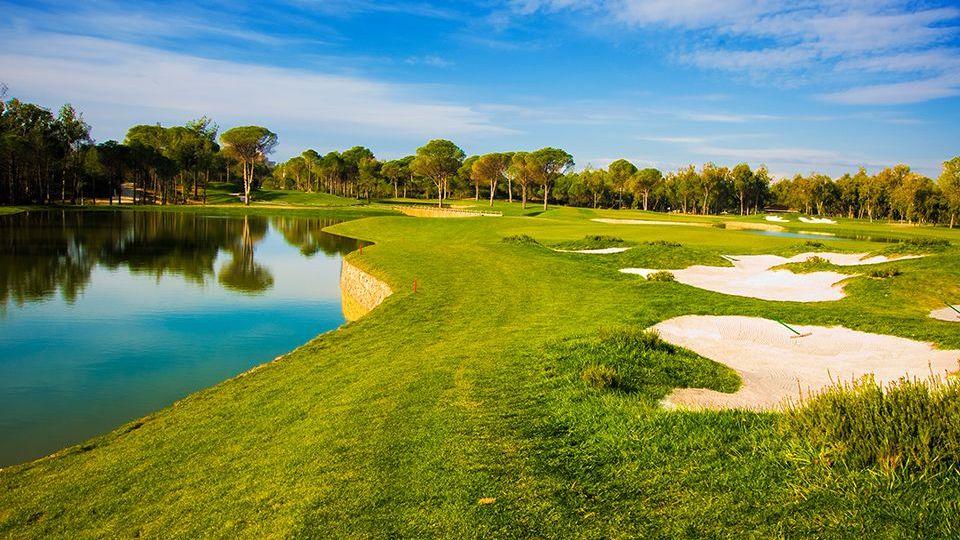 Golfplatz in