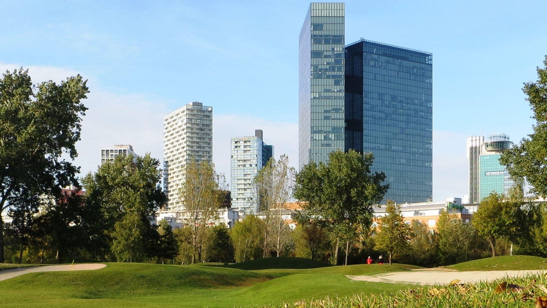 Golfplatz in Wien