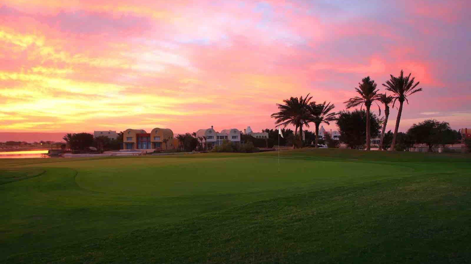 Golfplatz in Hurghada