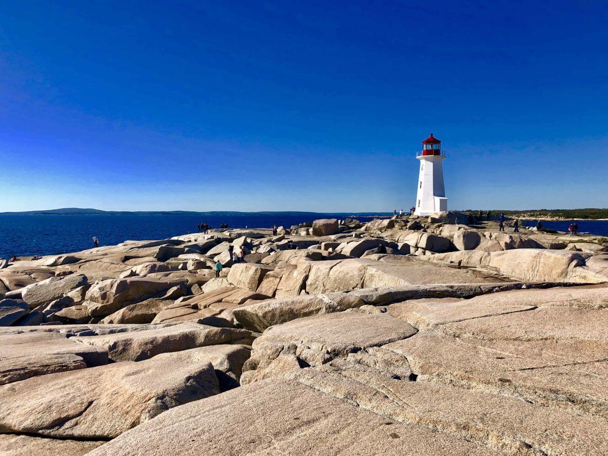 Der Leuchtturm in Peggy's Cove (Foto: Jürgen Linnenbürger)
