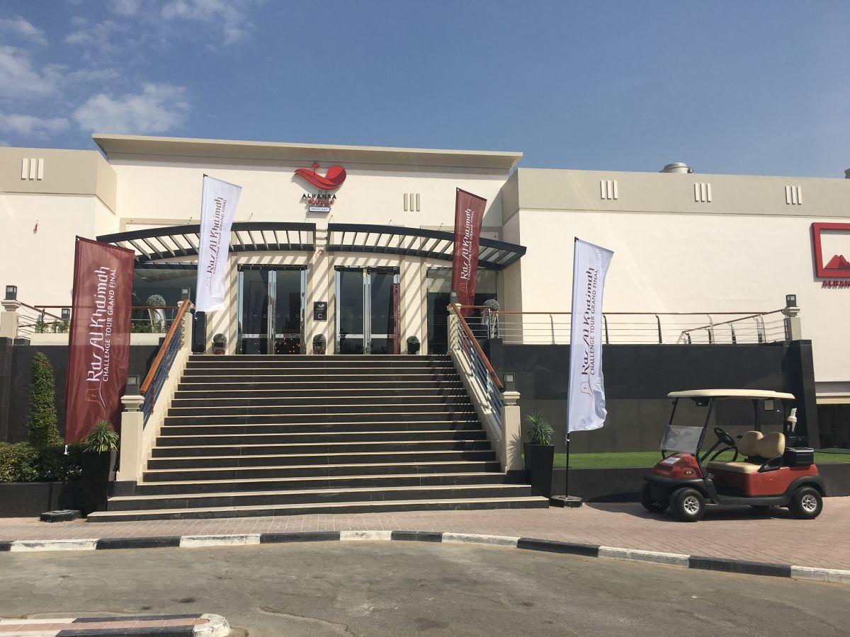 Das Clubhaus des Al Hamra Golf Club. (Foto: Golf Post)