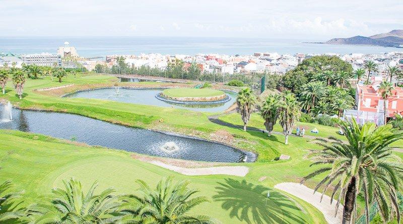 Las Palmeras Golf, der Par-3-Kurs im Norden Gran Canarias. (Foto: Twitter.com/@LP_GOLF)