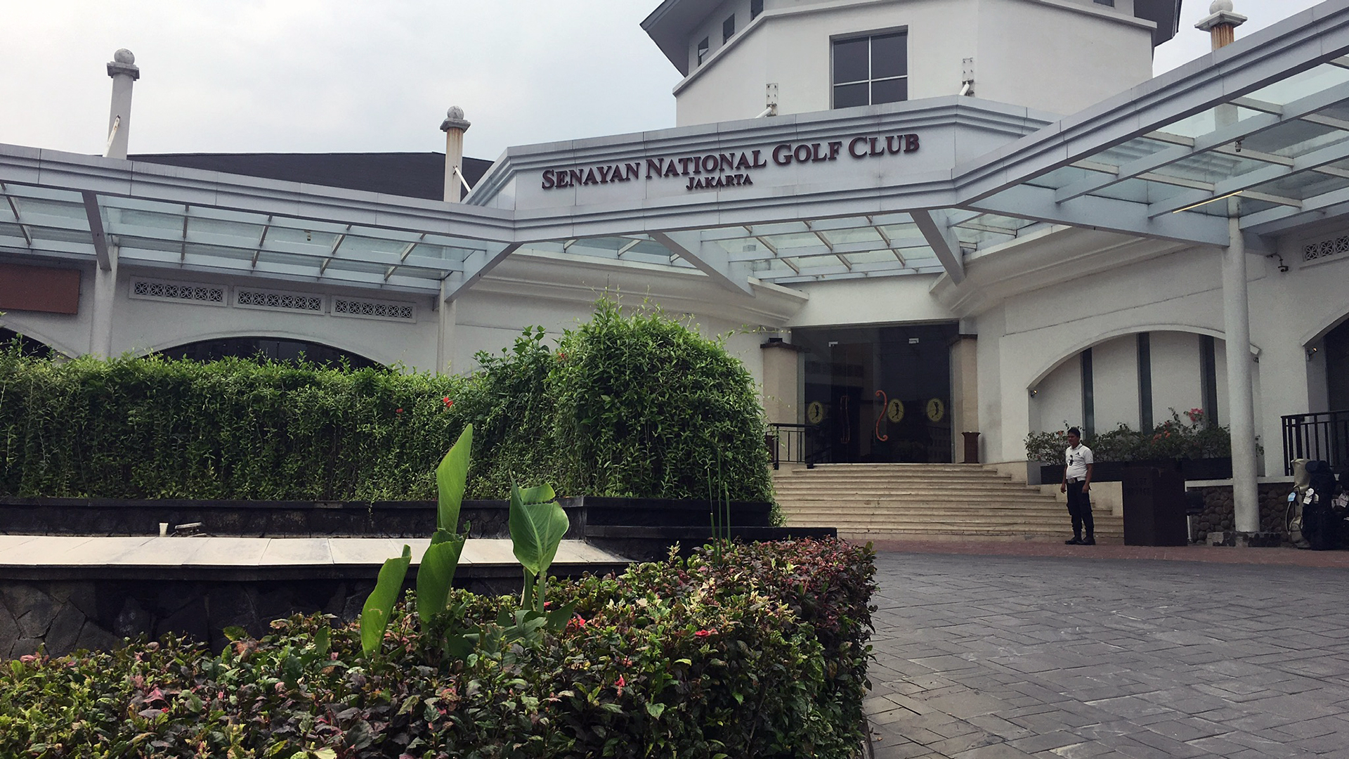 Das Clubhaus des Senayan National Golf Club in Jakarta. (Foto: Golf Post)