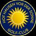 logo GC Hof Hausen vor der Sonne
