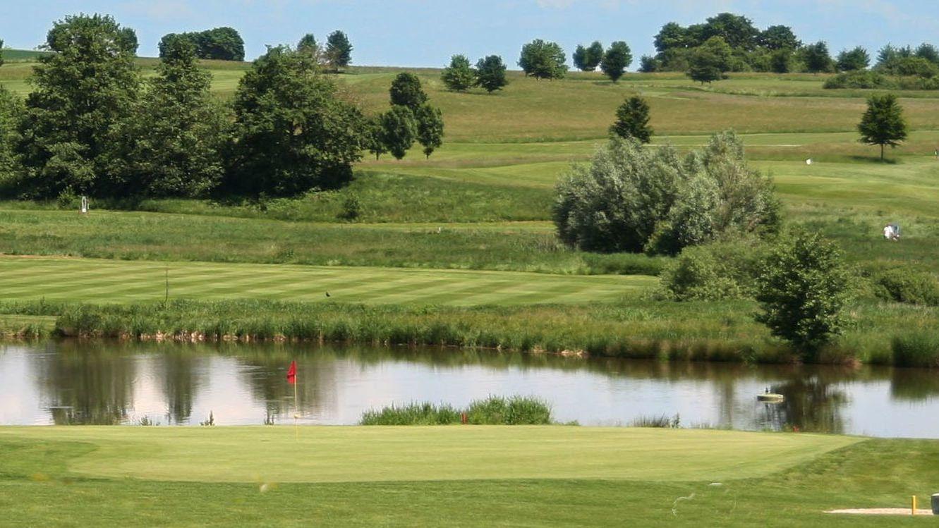 Golfplatz in Rottbach