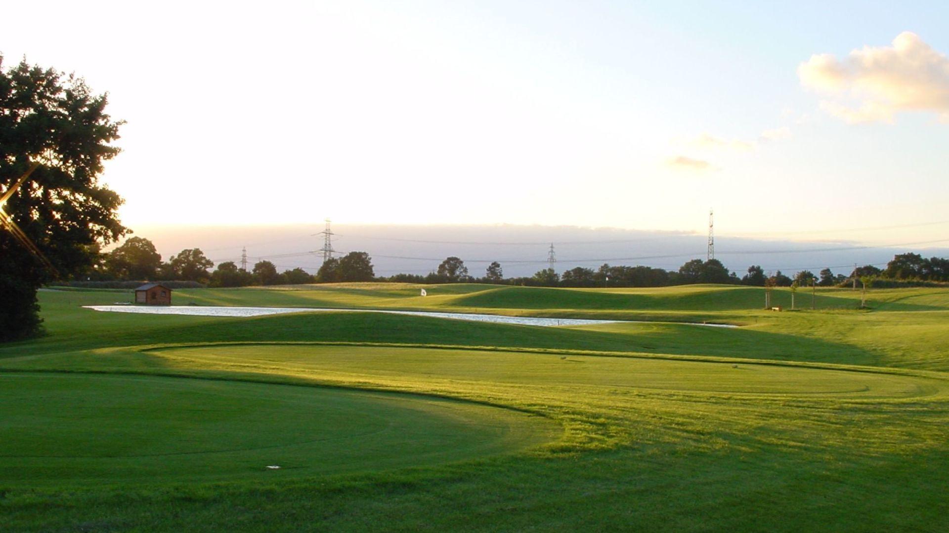 Golfplatz in Oststeinbek