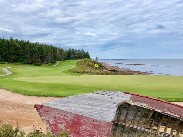 Der Northumberland Links Golf Course. (Foto: Jürgen Linnenbürger)