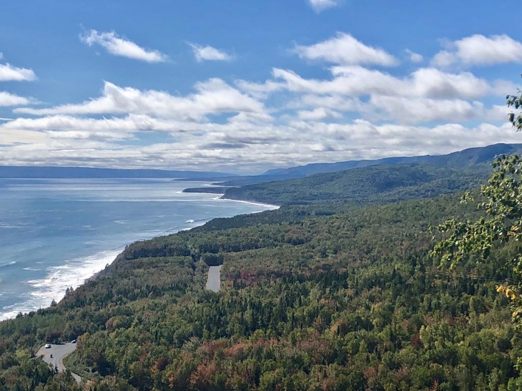 Der Cabot Trail auf Cape Breton Island. (Foto: Jürgen Linnenbürger)