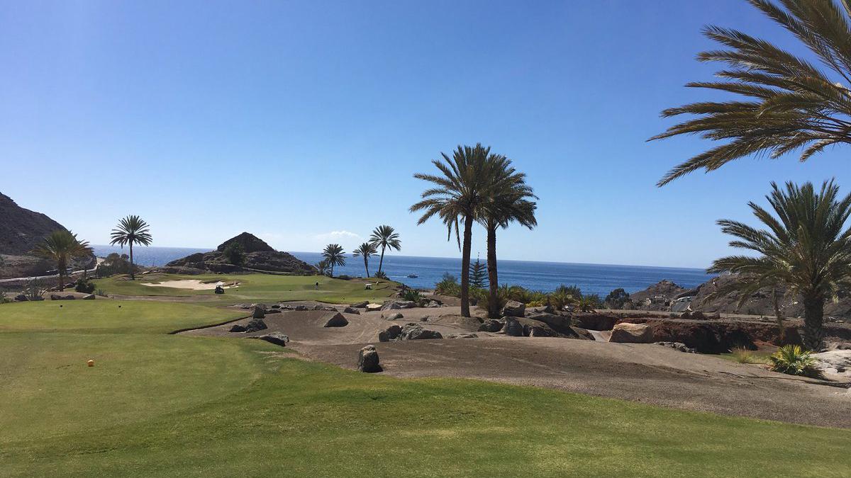 TAnfi Tauro Golf auf Gran Canaria. (Foto: Twitter.com/@ZanardelliGolf)