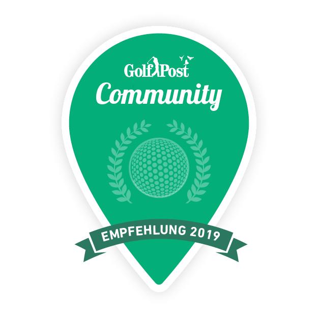 An diesem Siegel erkennen Sie von der Golf Post Community empfohlene Golfanlagen. (Foto: Golf Post)