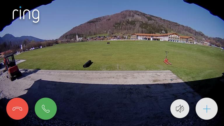 Aktionsradius der neuen Videoüberwachung mit Alarmmeldung. (Bildquelle: GC Ruhpolding)