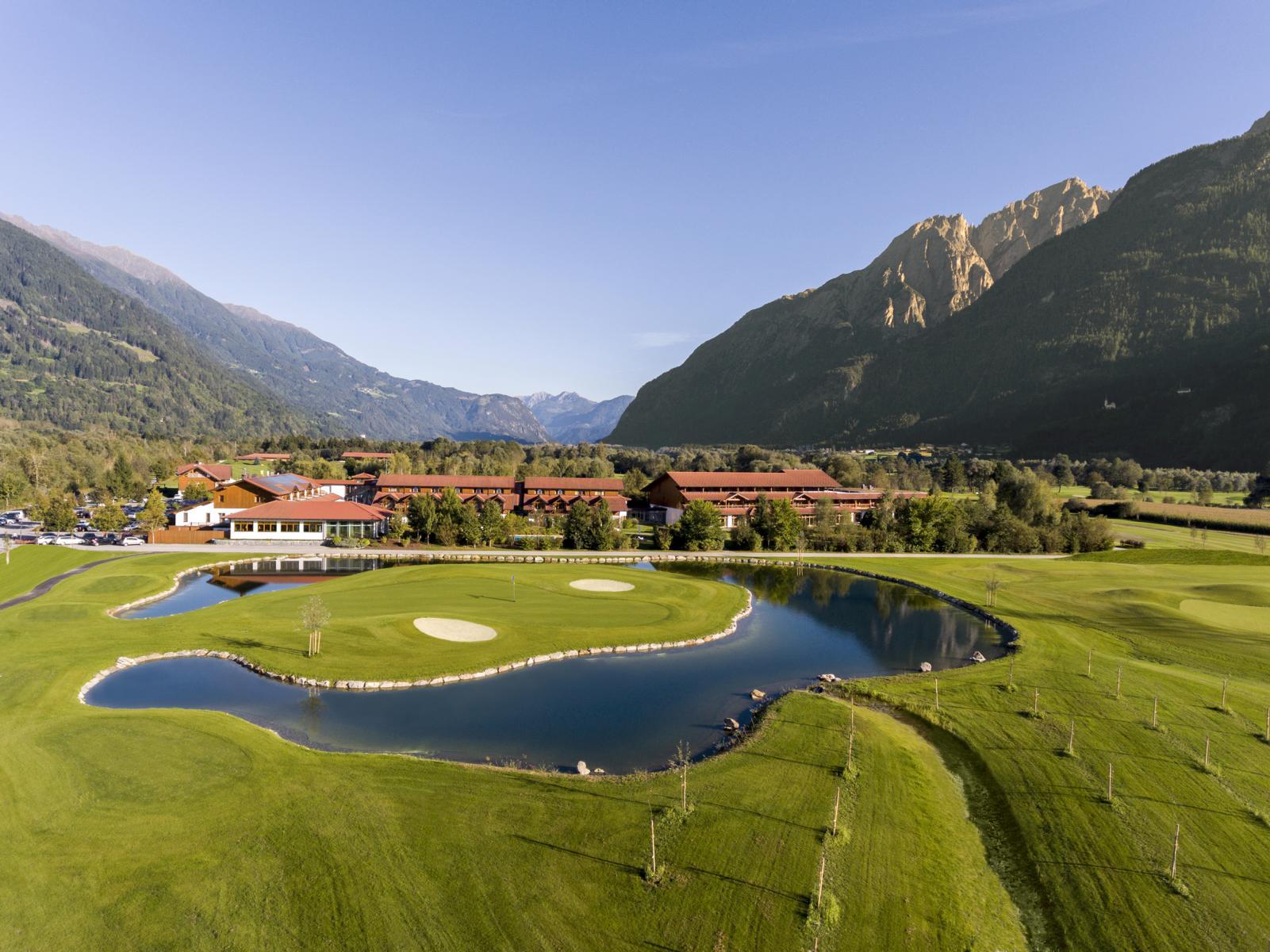 Das Dolomitengolf Hotel & Spa. (Foto: Martin Lugger)