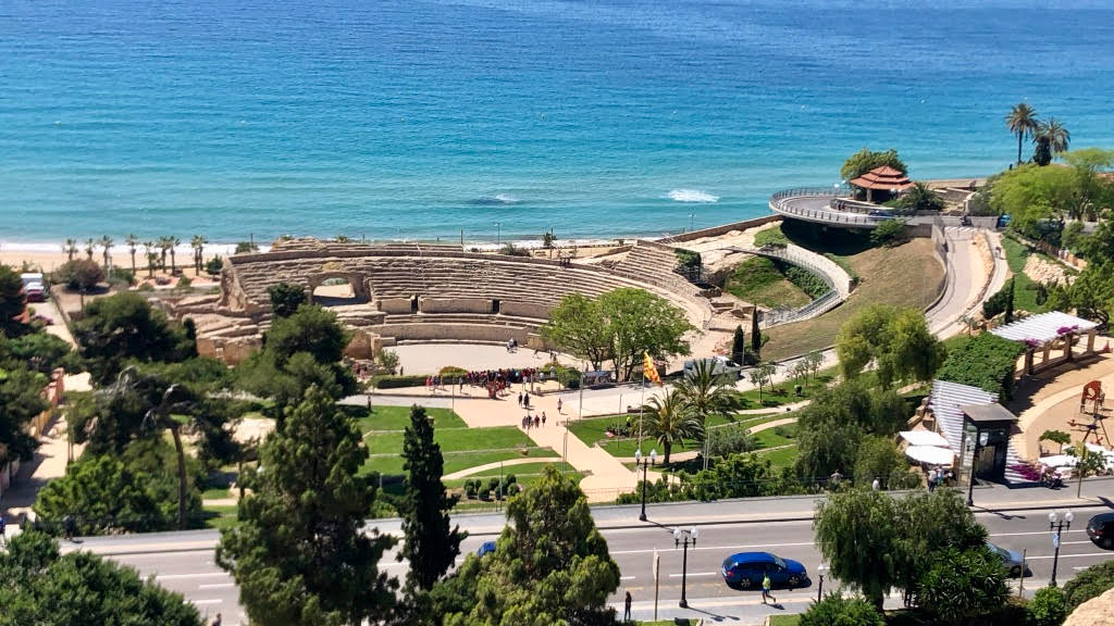 Amphitheater in Tarragona. (Foto: Jürgen Linnenbürger)