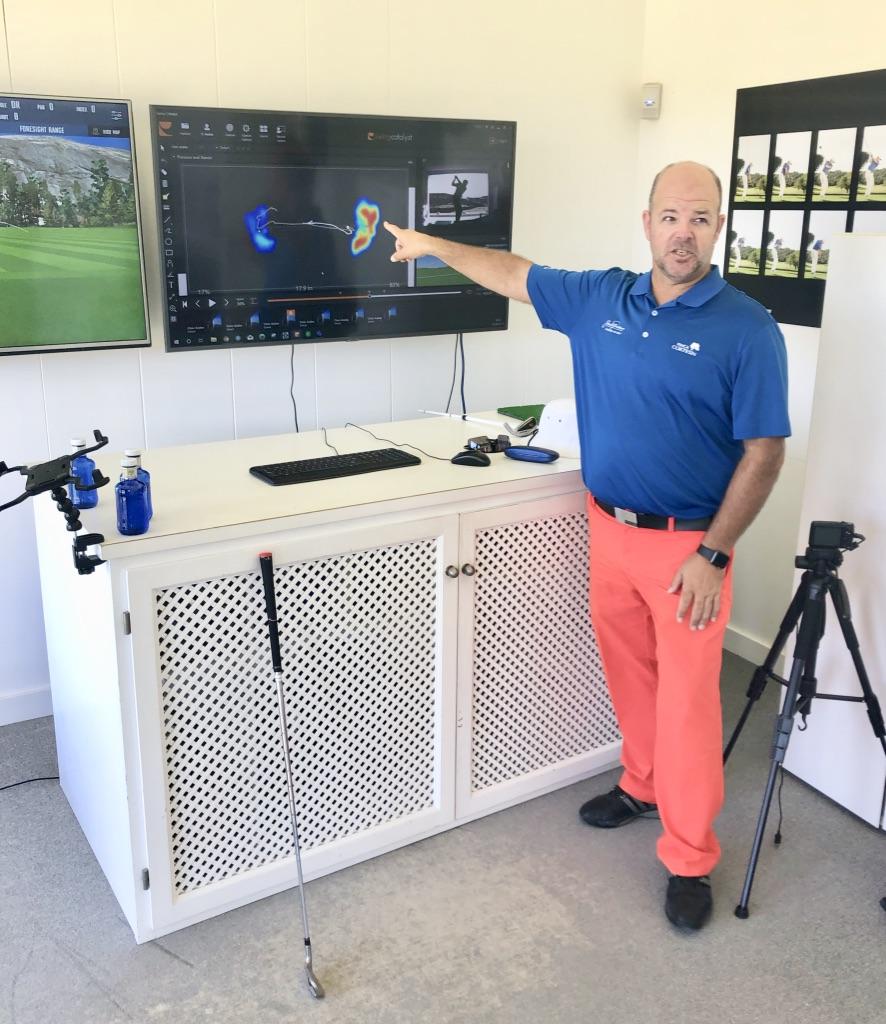 Ricardo - Director of Instruction der Jack Nicklaus Golf Academy. (Foto: Jürgen Linnenbürger)