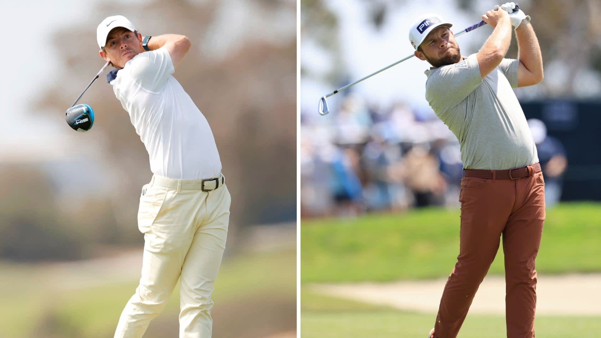 PGA Tour: Rory McIlroy and Tyrrell Hatton are at T11 after opening at the U.S. Open