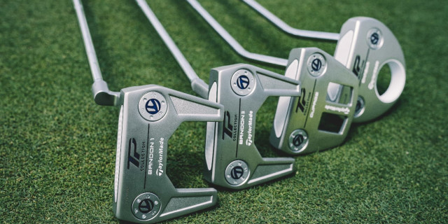 TaylorMade Introduces New TP Hydro Blast Putters