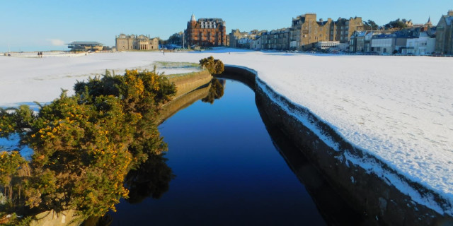 St Andrews in Snow