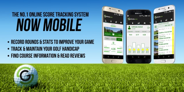 Track Scores via the Golfshake Apps