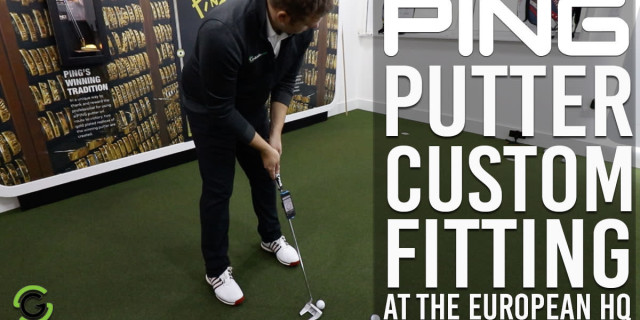 Putter Custom Fitting With PING