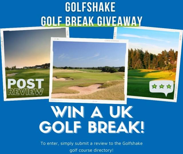 Golfshake Golf Break Giveaway