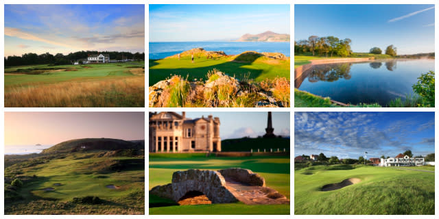 Top Reviewed Golf Courses of 2018