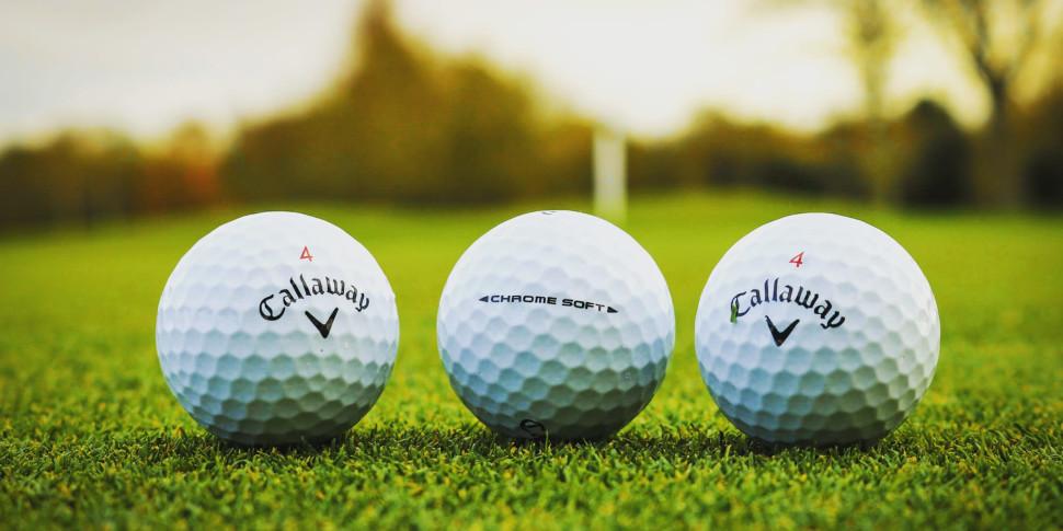 Callaway Chrome Soft Balls