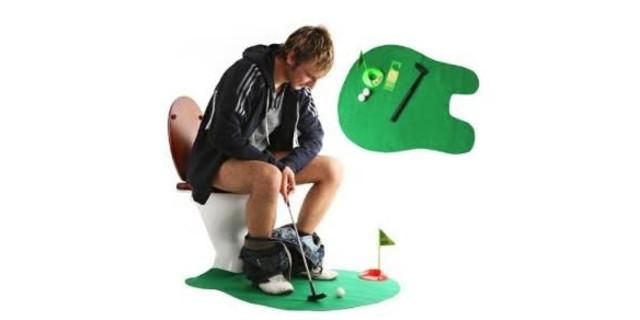 Golf Toilet Mat
