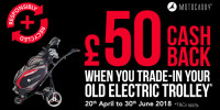 Motocaddy Launches Electric Trolley Trade-in Scheme