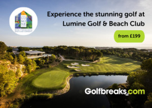 Experience the stunning golf at Lumine Golf & Beach Club