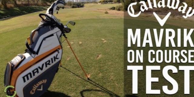 Callaway MAVRIK Range On Course Test