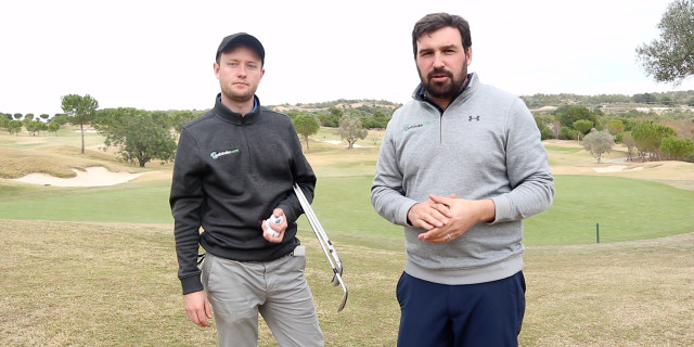 Sharpen your short game - Find your ball