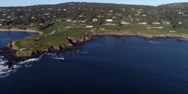 Spectacular Drone Footage of Pebble Beach