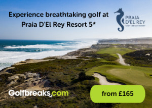 Experience breathtaking golf at Praia D'El Rey Resort 5*