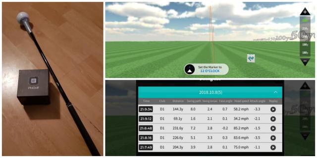 PhiGolf Mobile & Home Golf Simulator Review