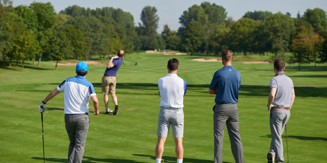 Age of Golfers Falls