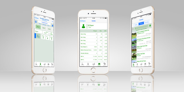 Track Scores via the Golfshake iOS App