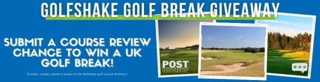 Golf Break Giveaway