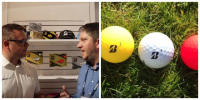 Bridgestone E12 Golf Ball Interview