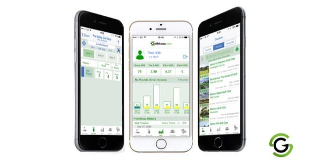 Golfshake Score Tracker