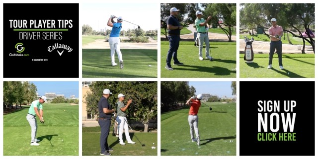 Sign Up to Our 'Tour Player Driver Tips' Series