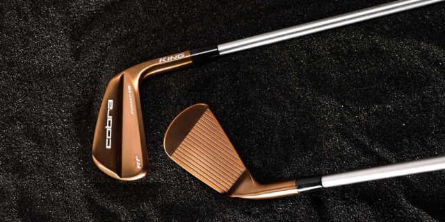 Cobra Golf Launches New KING Copper Iron Series